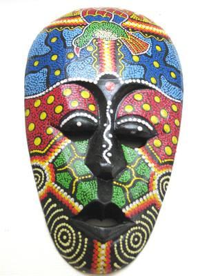 Mask clipart bali Idea mask  Tribal Mask