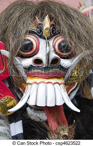 Mask clipart bali An  Photo Rangda Stock