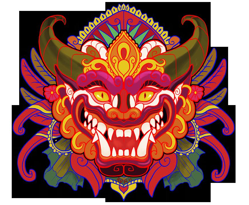 Mask clipart bali Pinterest  Bali & adr