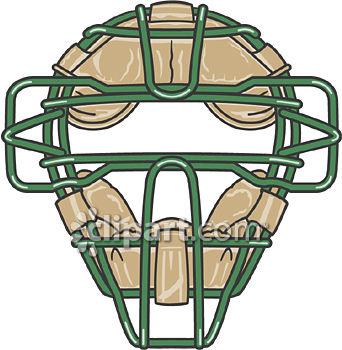 Mask clipart baseball  Edition Demo School com