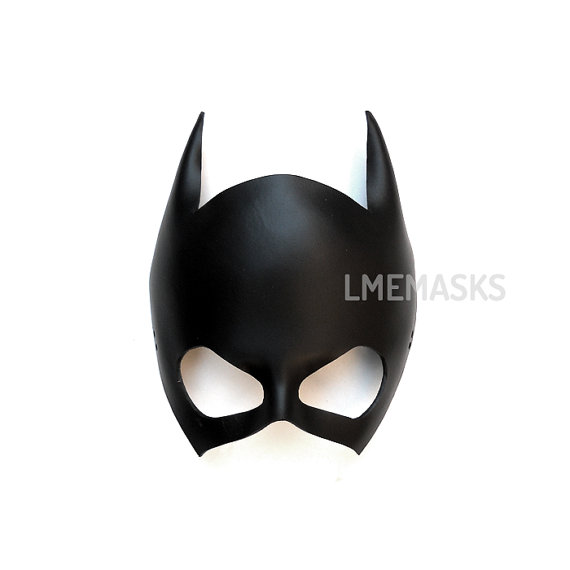 Mask clipart batgirl Mask Batgirl Mardi Cosplay Leather