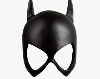 Mask clipart batgirl 52 Etsy Batgirl by FX