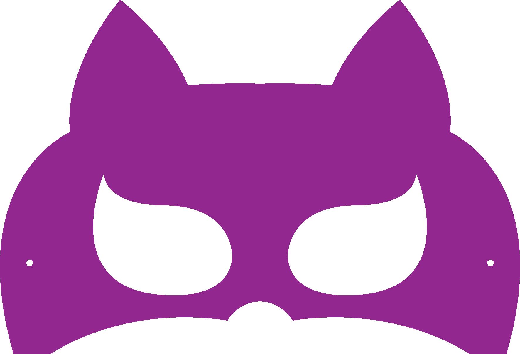 Batgirl clipart mask Incredibles Masks Halloween Mask Printable