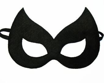 Drawn masks batwoman  sentido máscaras superheroe FeltFamily