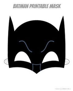 Mask clipart batgirl Masks me Printable Batgirl beautiful