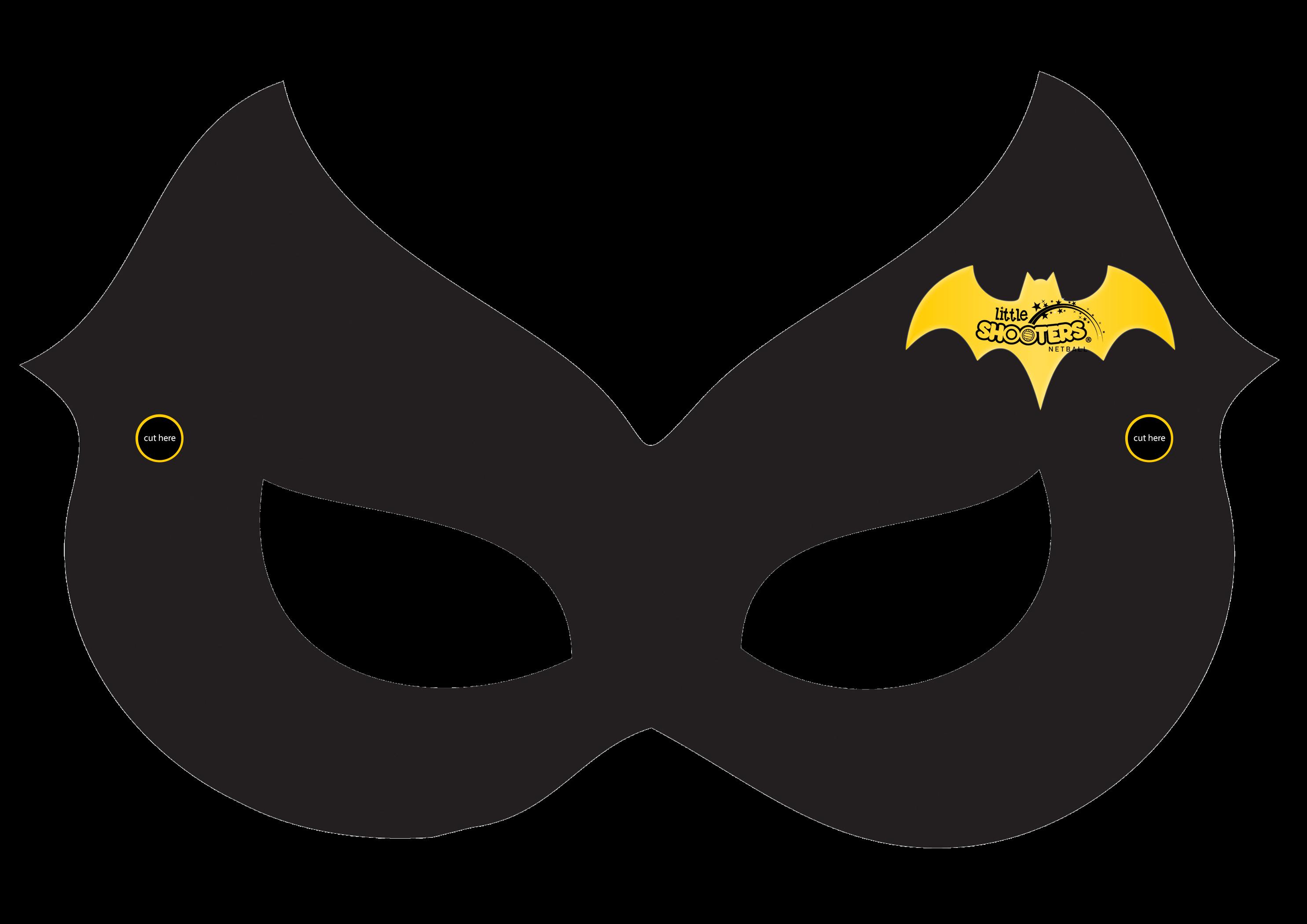 Mask clipart batgirl Calling All Netball Shooters Superheroes!
