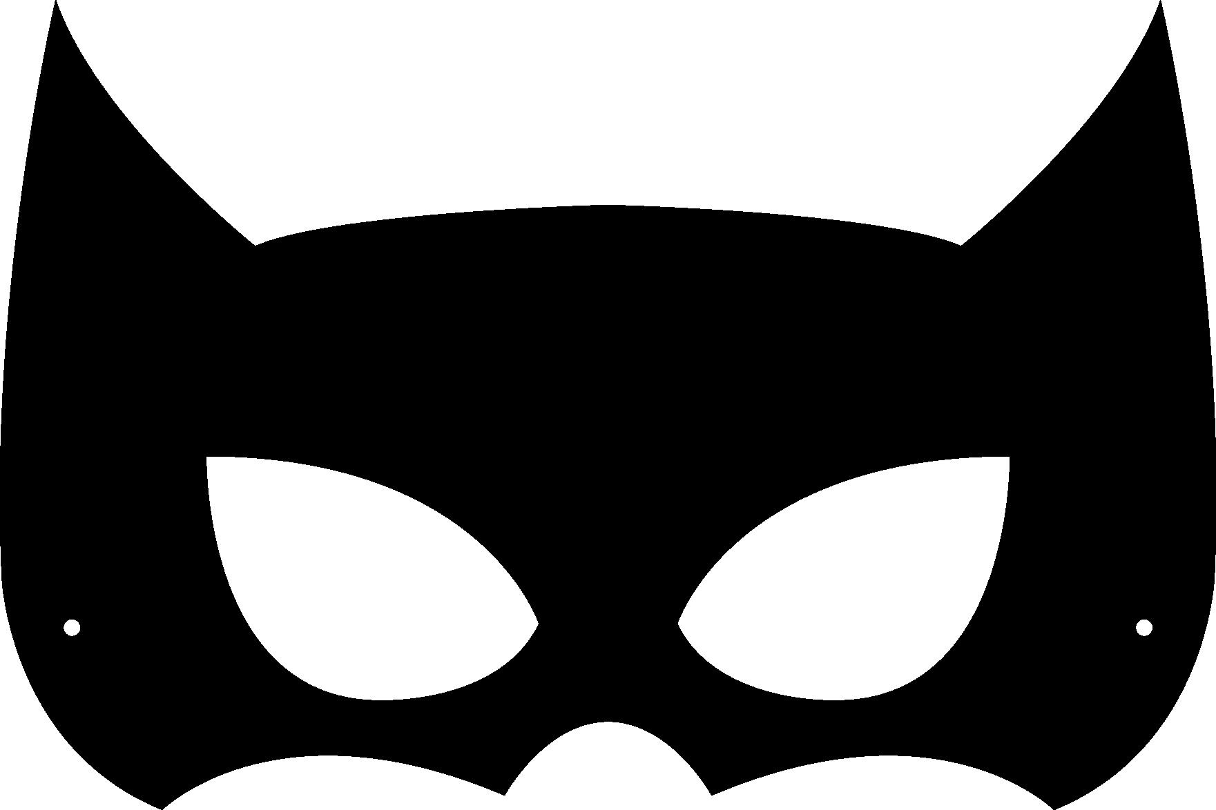 Mask clipart batman mask Incredibles Halloween Masks Printable Mask