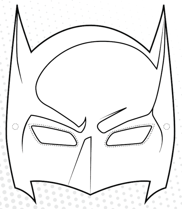 Mask clipart batman mask The Mask The Printables Mother