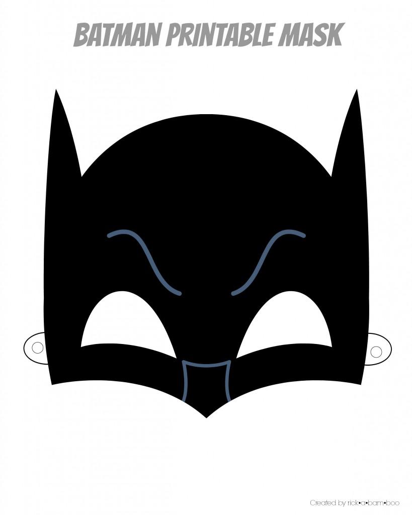Mask clipart batman mask Super masons batman printable Mask