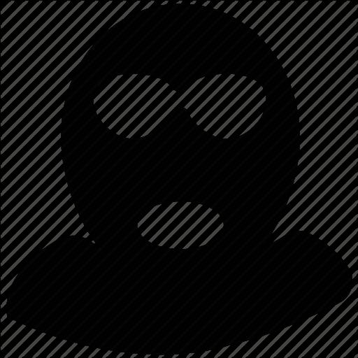 Mask clipart burglar Mask engine search Icon prisoner
