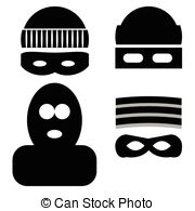 Mask clipart burglar Of Burglar icons Icons theft