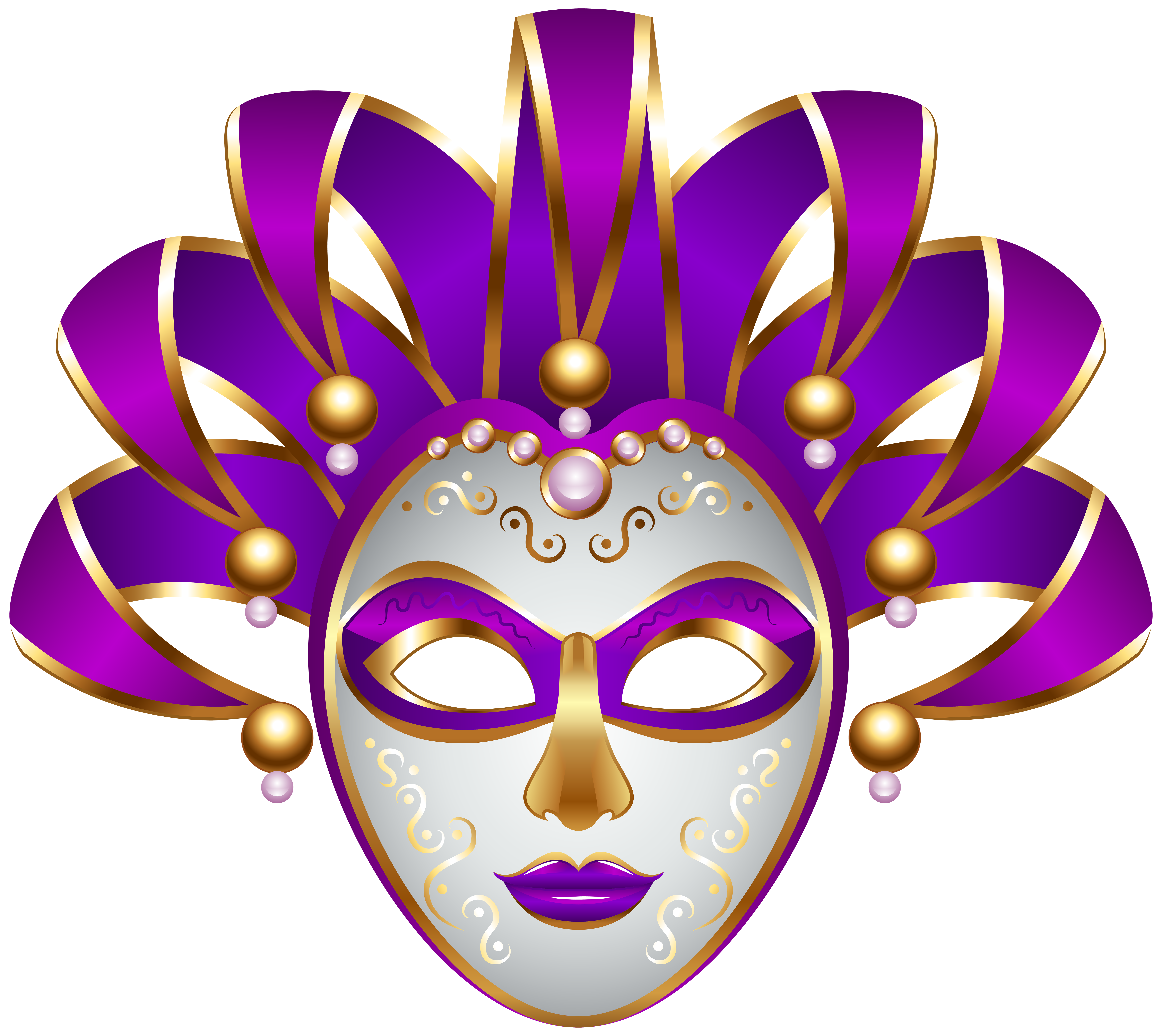 Carneval clipart carnival mask Clip Mask PNG Art Gallery