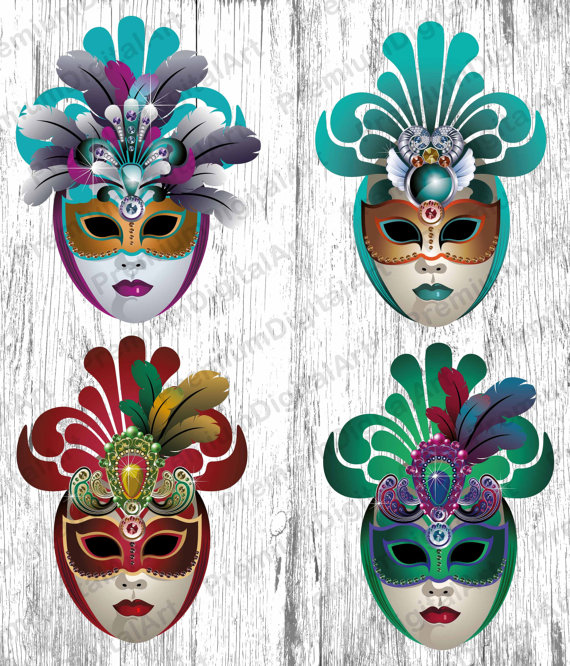 Carneval clipart venetian mask Mask mask Venetian clipart Carnival