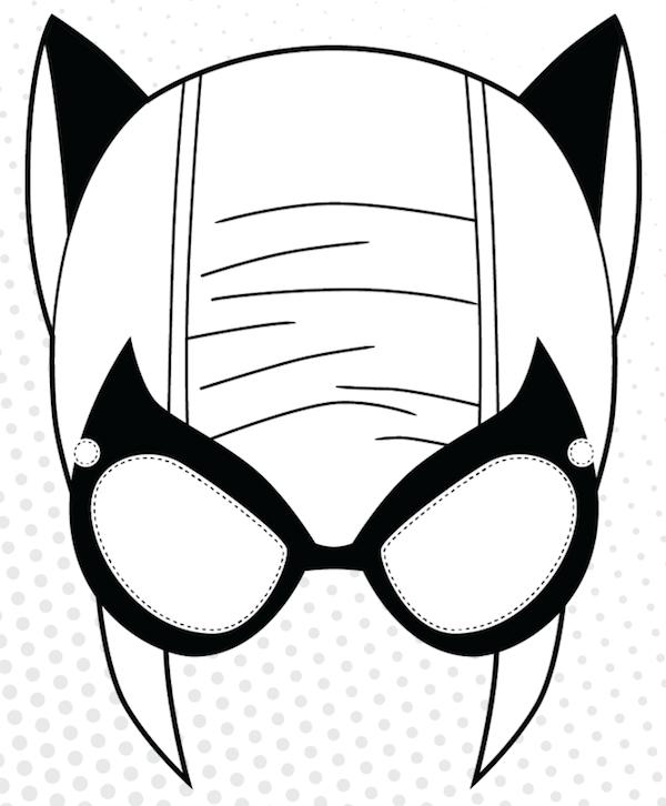 Mask clipart cat woman Clipart Free Panda Cat Info