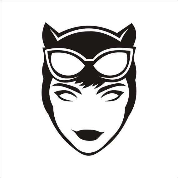 Mask clipart cat woman Catwoman on 50 $4 by