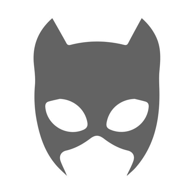 Mask clipart cat woman Minimalism T Catwoman Minimalist Shirt