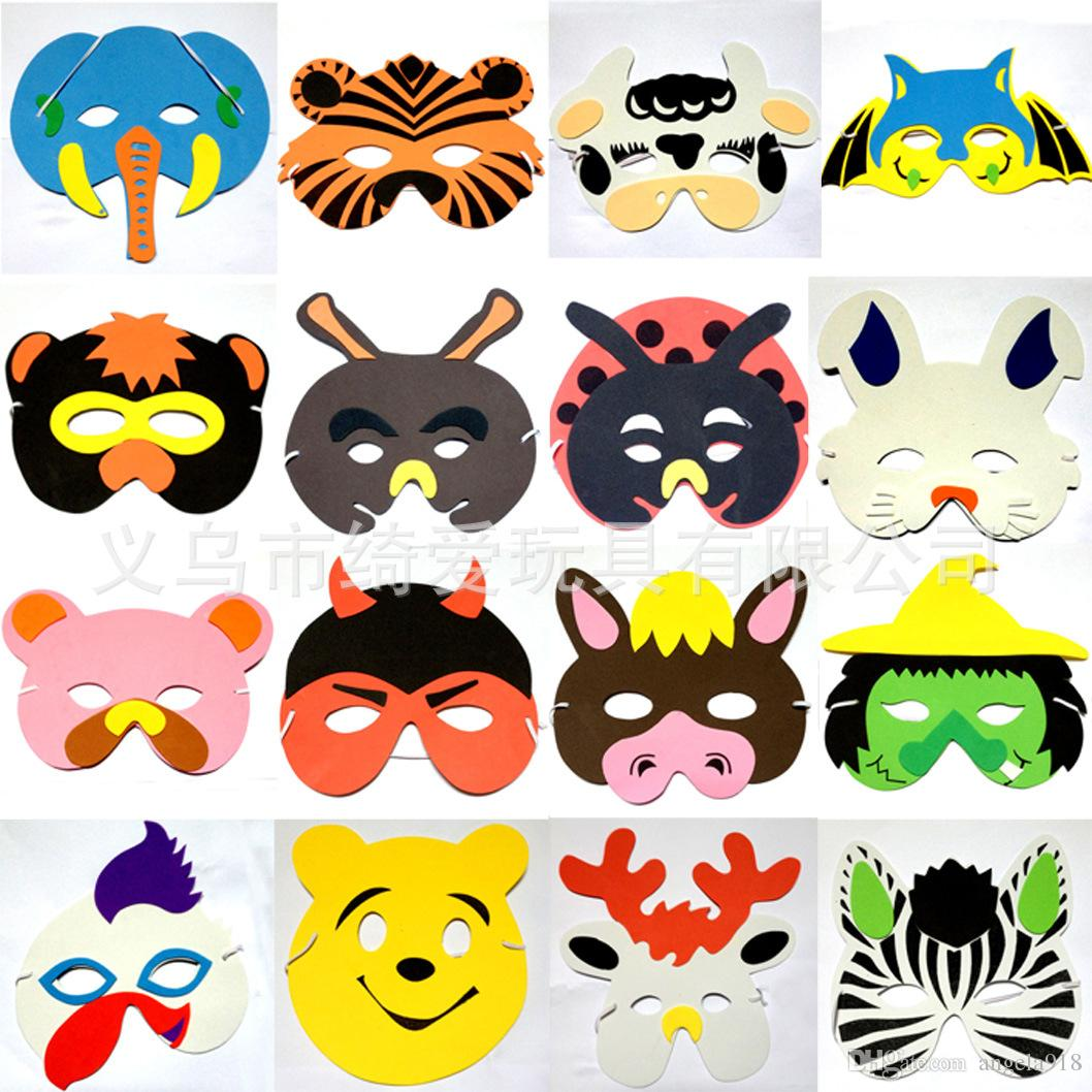 Mask clipart christmas Halloween Scary And Animals Children