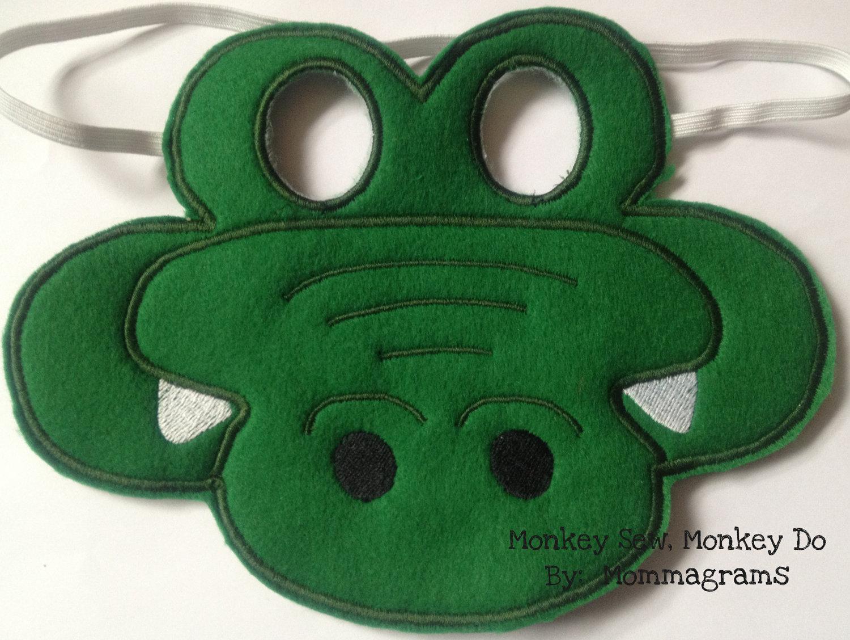 Crocodile clipart mask Mask inspiration Mask Kids