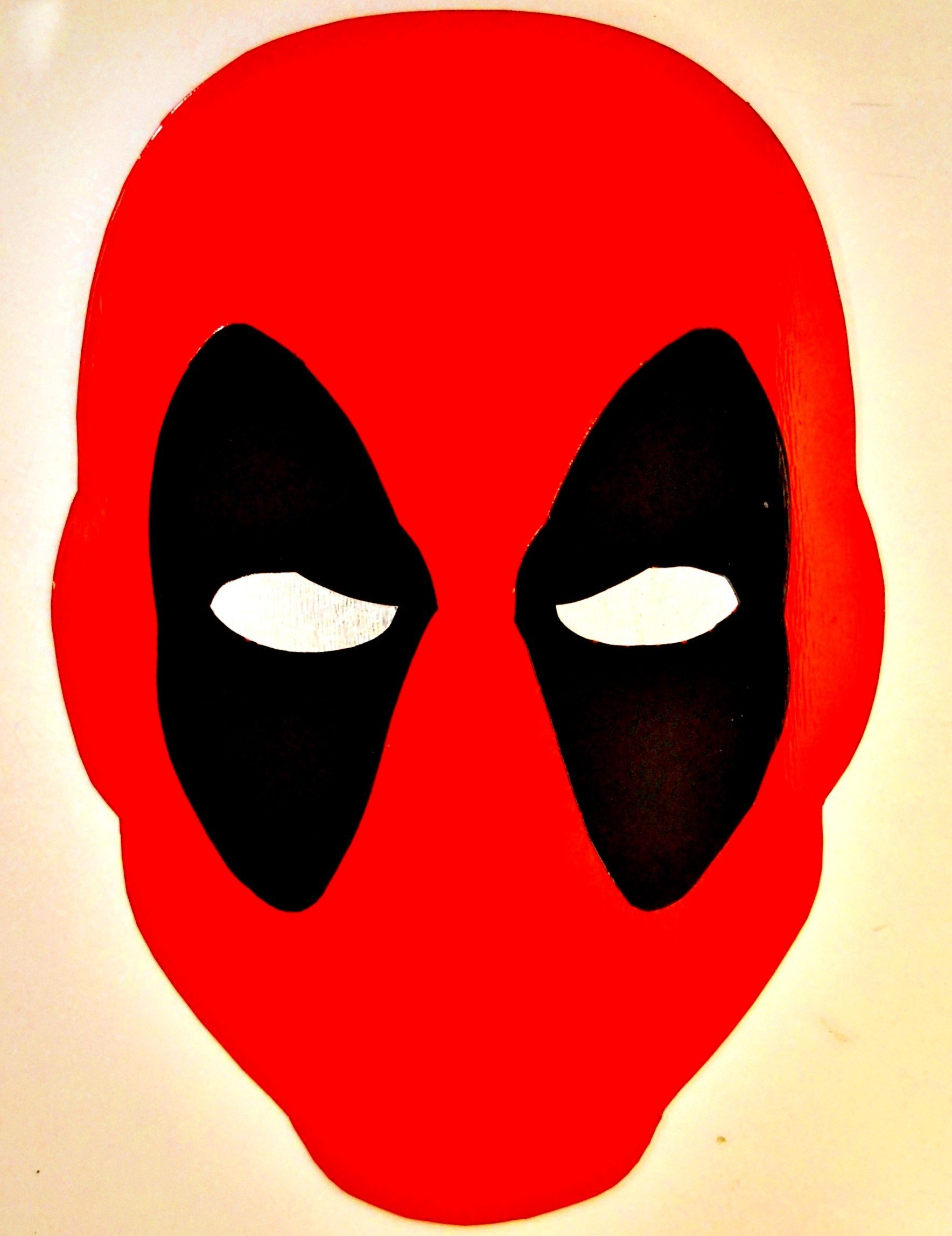 Mask clipart deadpool Spray splatter Metal x 10