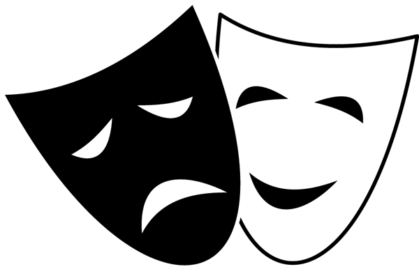 Mask clipart drama Drama Clipart Drama Clipart mask