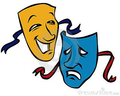Theatre clipart face Street Pinterest Today Acting/Theater 32
