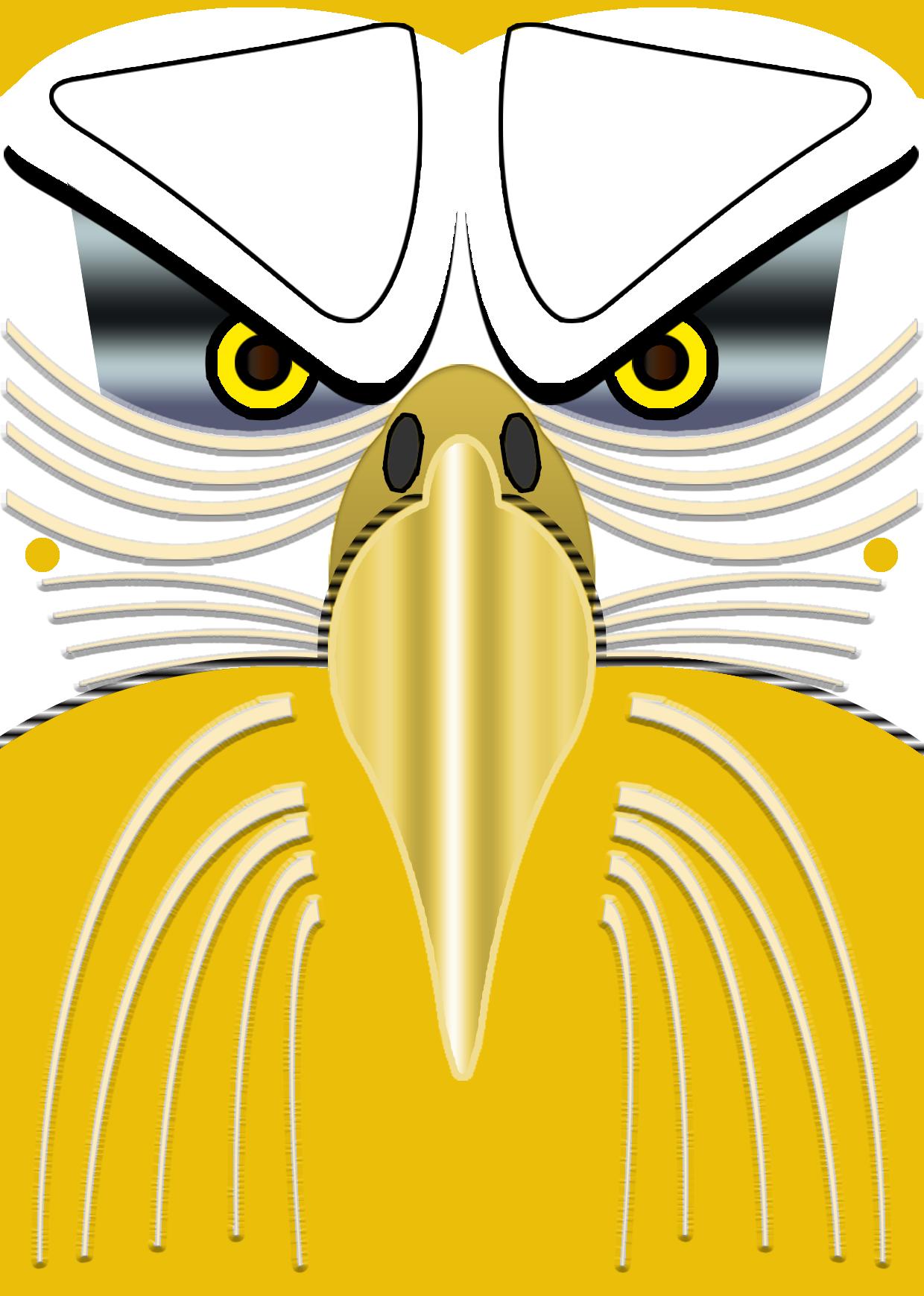 Mask clipart eagle Cut Mask Eagle Face Wallpaper