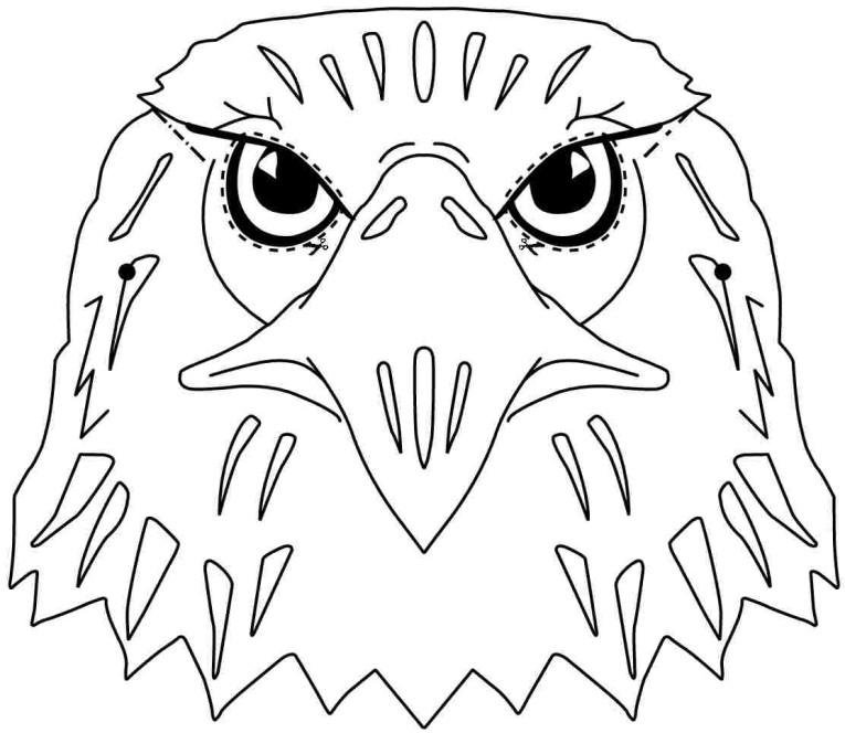 Mask clipart eagle Preschool Colouring Printable For Preschool