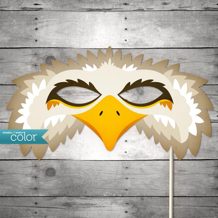 Mask clipart eagle Etsy Gras Birthdays or Mask