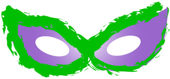 Carnival clipart eye mask Eyes Gras gras cats Funky