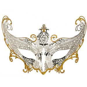 Silver clipart masquerade mask Winged Events Mask  Rental