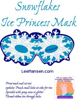 Mask clipart frozen Printable eyes ice Printable Eye