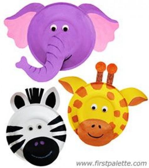 Mask clipart giraffe Crafts:  mask DIY and