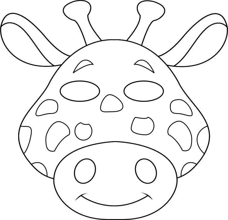 Mask clipart giraffe Vbs  jungle Safari mask