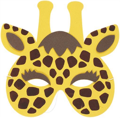 Mask clipart giraffe Printable masks masks Google Search