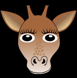 Mask clipart giraffe Art Giraffe  com Face