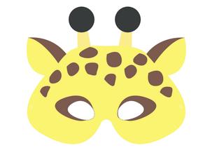 Mask clipart giraffe Mask Archives Masks com Craft