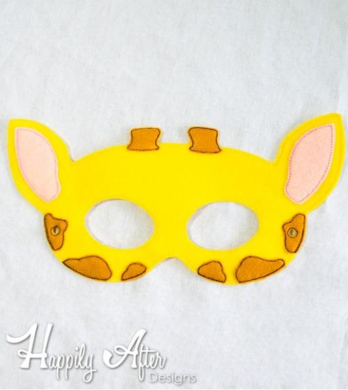 Mask clipart giraffe 500x560 ITH Design Giraffe Mask