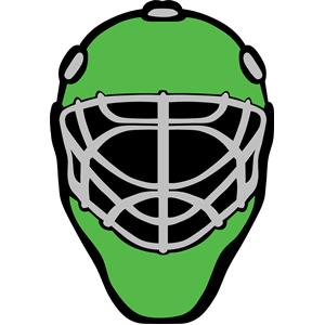 Mask clipart goalie Goalie_mask_simple sport of free
