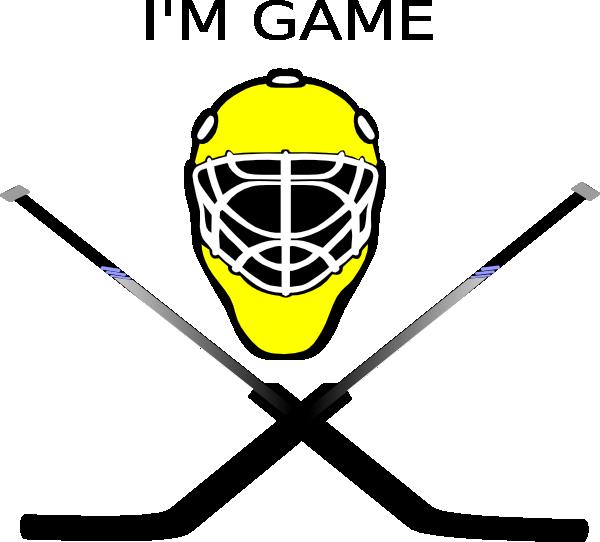 Mask clipart goalie At this art Art Clker
