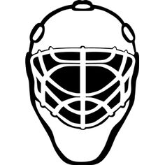 Mask clipart goalie Scalable Mask White Graphics SVG