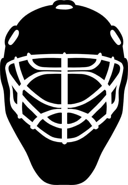 Mask clipart goalie Com this  Clker vector