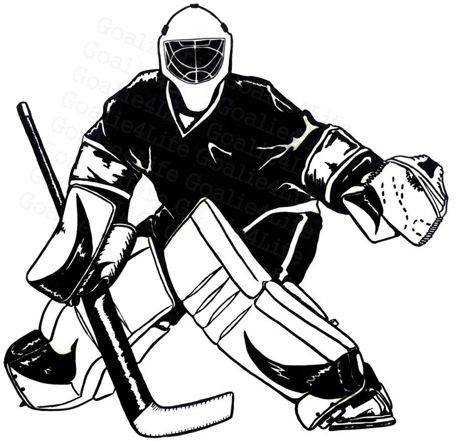 Mask clipart goalie Goalie Hockey cliparts Clipart Goalie