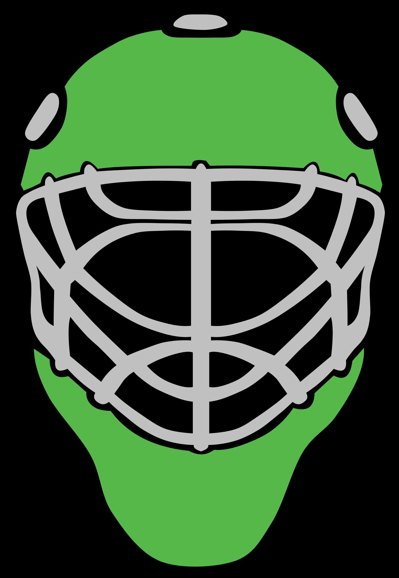 Mask clipart goalie Mask simple Goalie mask Goalie
