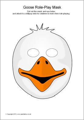 Mask clipart goose Masks play on  and