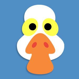 Mask clipart goose Carnestoltes Chicken Pinterest story Goose