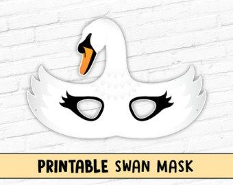 Mask clipart goose Bird Mask mask Printable Mask