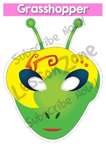 Mask clipart grasshopper Ant NZ and the Grasshopper
