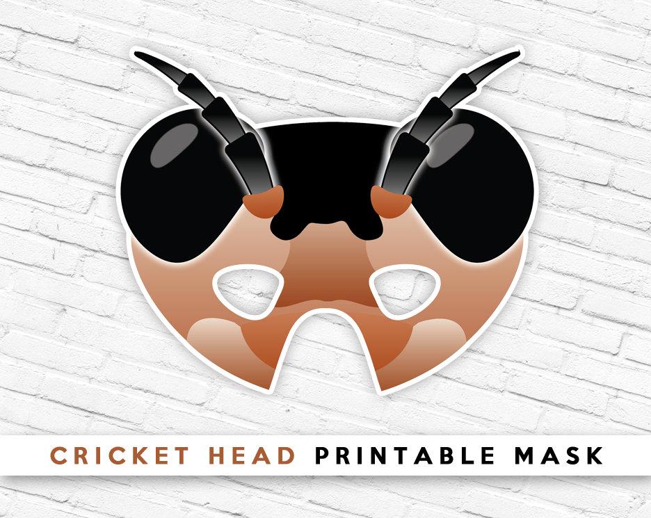 Mask clipart grasshopper Etsy Grasshopper Mask Bug Grasshopper