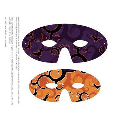 Mask clipart halloween mask (StyRock) mask Clip Template Mask