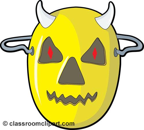 Mask clipart halloween mask Festival Mask (12) – Clipart